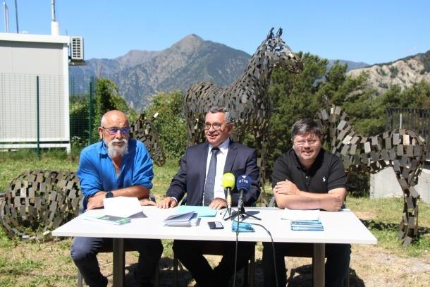 Roda de premsa de presentació de les activitats d'estiu d'Engolasters.