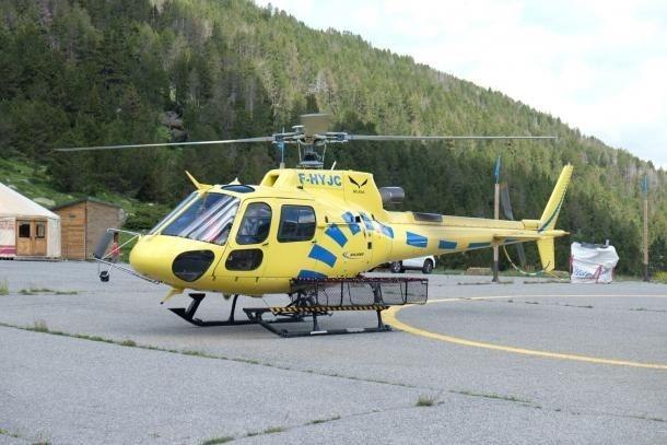 L'helicòpter dels bombers.