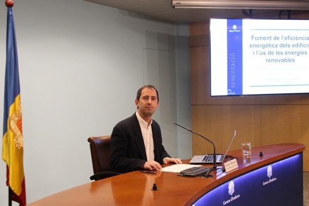 El director de l'Oficina de l'Energia i del Canvi Climàtic, Carles Miquel.