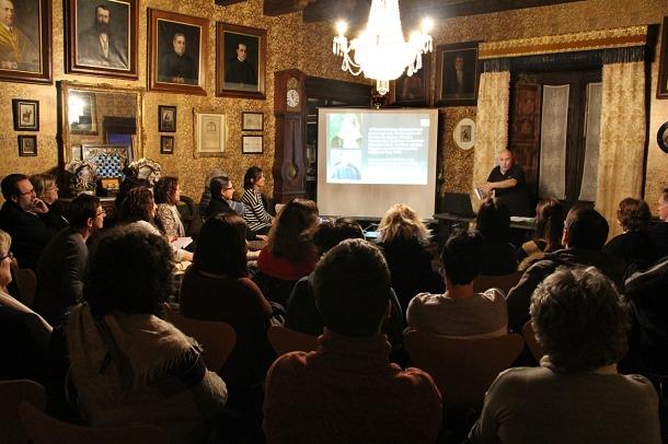 Joan Peruga repassa la seva novel·la amb els lectors de les Valls del Nord.