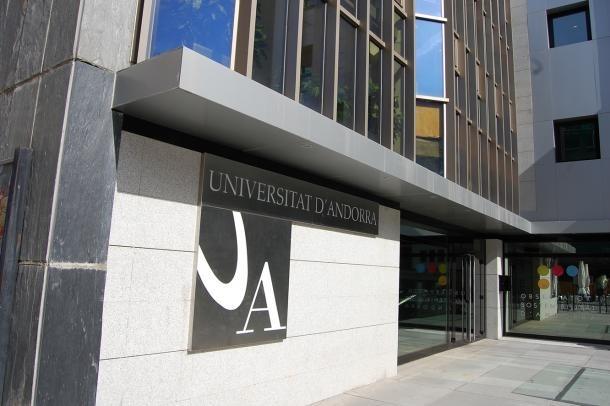 Façana de l'edifici de la Universitat d'Andorra.