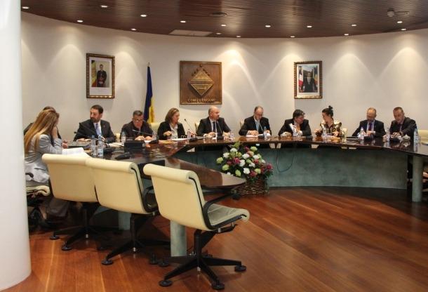 Sessió de consell de comú d'Encamp celebrada aquest dijous.