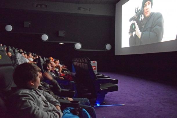 Un moment d'una de les sessions de la Setmana de cinema espiritual.