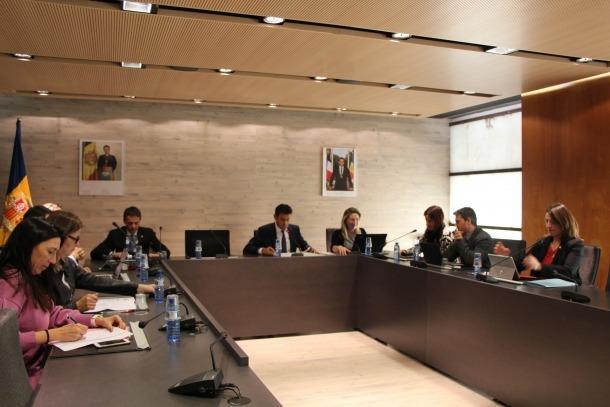 Sessió del Comú d'Ordino celebrada dilluns.
