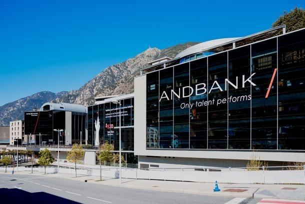 Vista de la seu social d'Andbank.