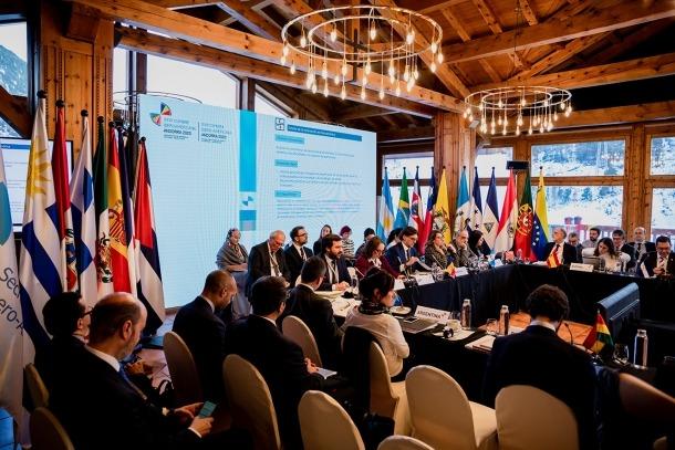 La Cimera de ministres d'Afers Exteriors celebrada a Soldeu.