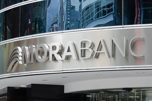 La façana de l'edifici de MoraBanc.