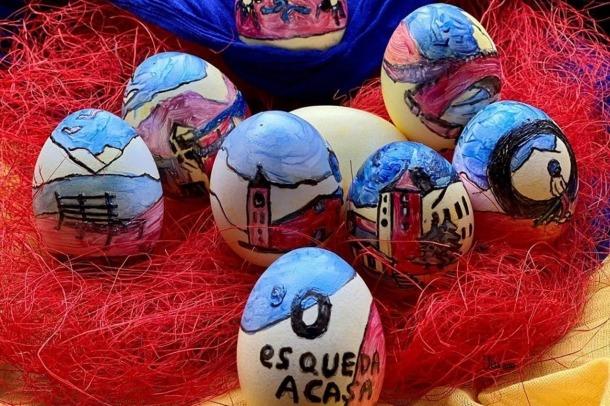Una de les imatges penjades amb l'etiqueta #ordinoesquedaacasa.