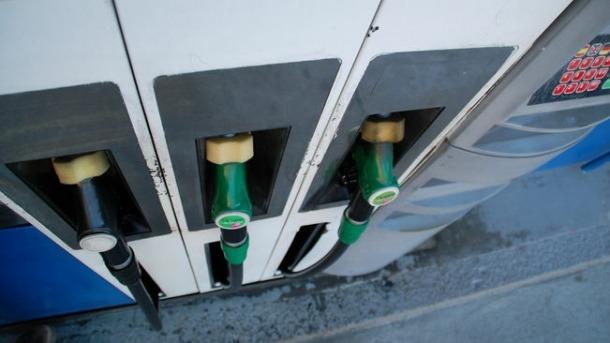 El sortidor d'una benzinera.