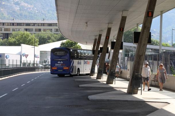 Estació nacional d'autobusos.