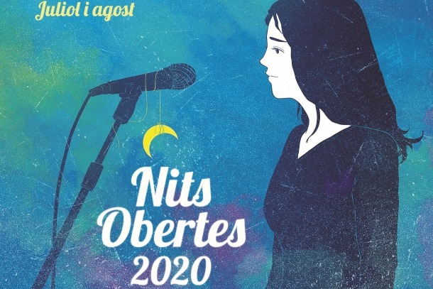 Cartell de les 'Nits obertes'