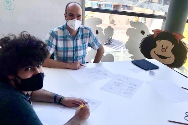 Una de les classes impartides per Jordi Planellas.