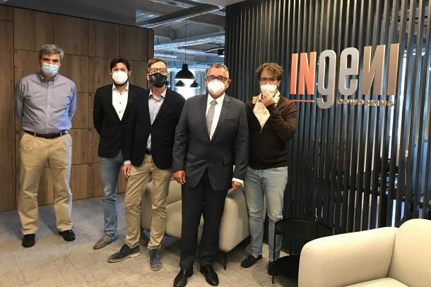 Membres d'Actinn i Ingeni Coworking.