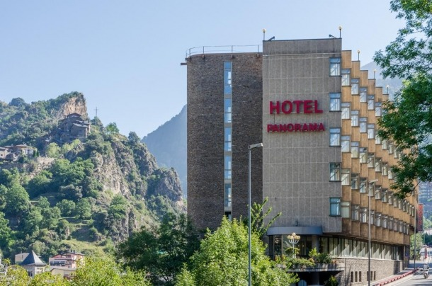 L'hotel Panorama, un referent del sector hoteler andorrà.