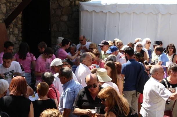 El vermut popular de la festa major de Santa Coloma de l'any passat.