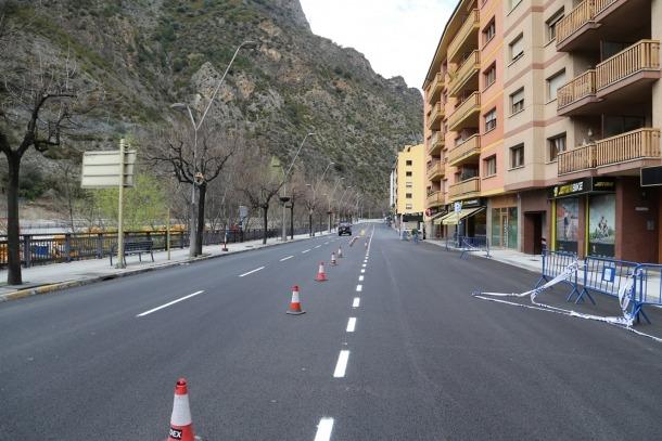 L'avinguda Francesc Cairat.