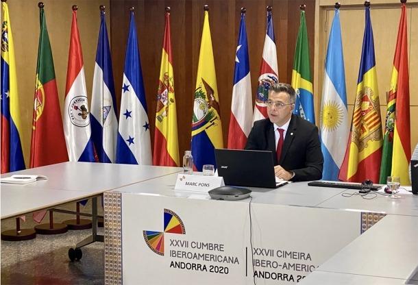 El secretari d'Estat d'Igualtat i Participació Ciutadana, Marc Pons, aquest dimarts.