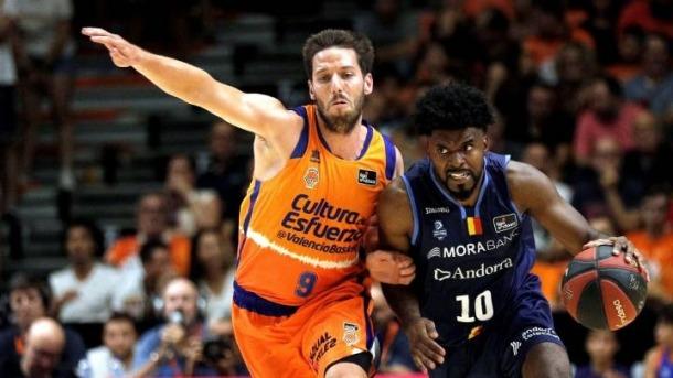 El BC MoraBanc obrirà la fase final de l'ACB contra el València Basket