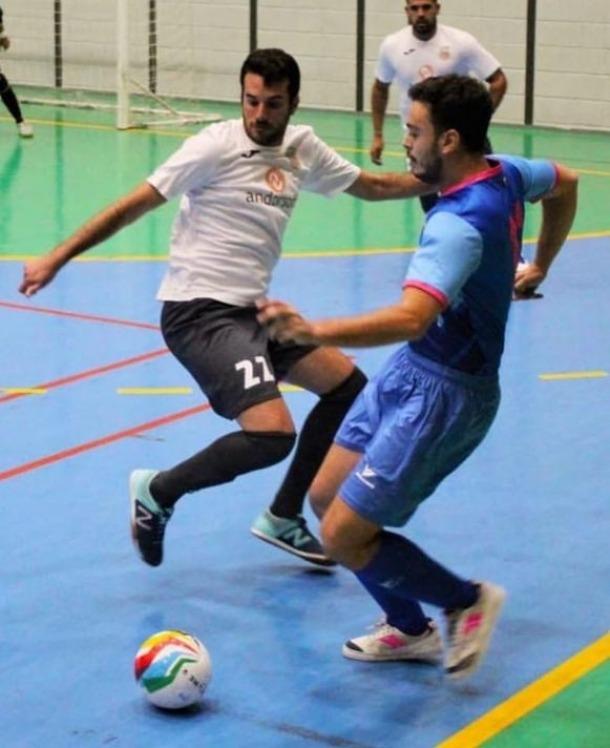 Óscar San Segundo, amb el Sideco FC Encamp.