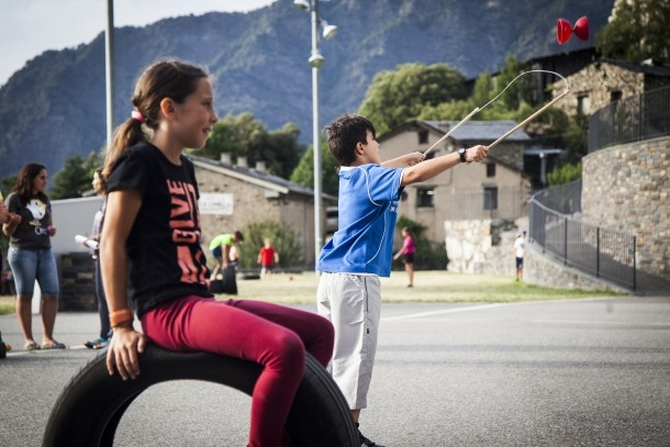 Una edició passada de Viu l'estiu d'Andorra la Vella.