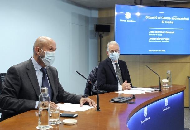 Salut autoritza ampliar la capacitat de la planta Covid del Cedre.