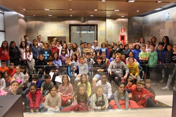 Els participants sl consell d'infants d'Ordino.