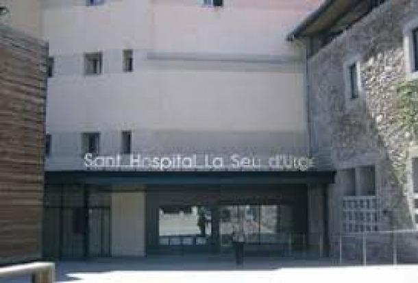 Façana del centre hospitalari alturgellenc.
