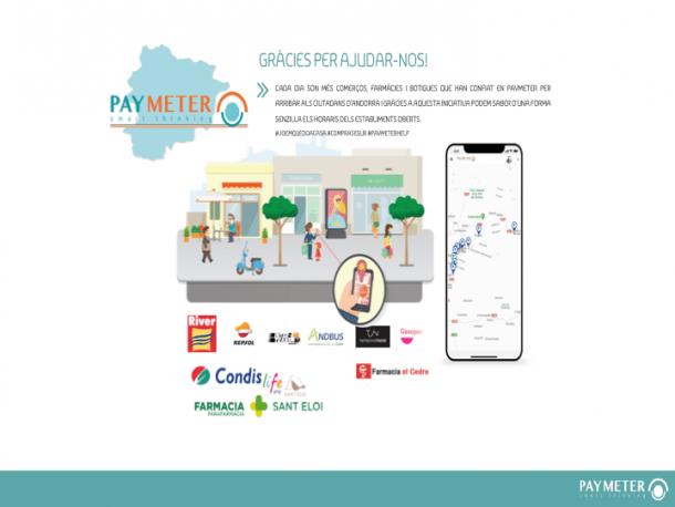 Imatge promocional de les noves funcions de Paymeter.