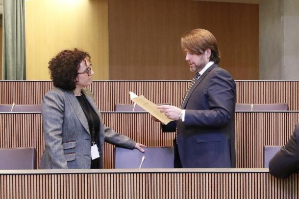 Nova trobada amb la ciutadania dels consellers generals liberals