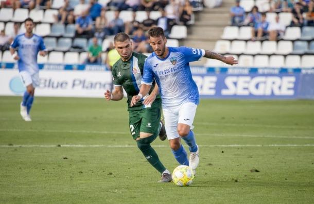 Joan Oriol, lateral esquerre tarragoní, ex Lleida Esportiu.