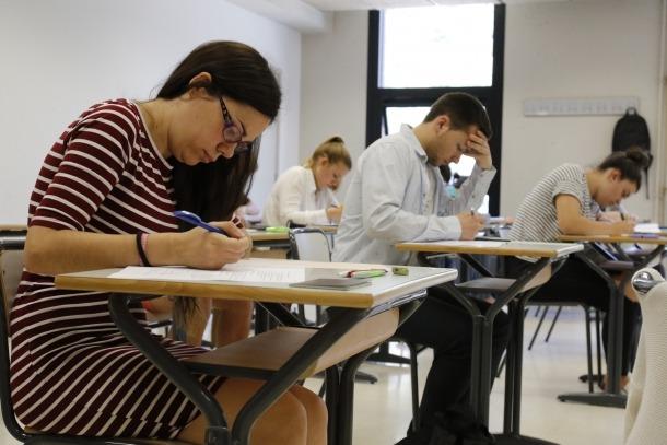 Comencen els exàmens de la prova de batxillerat professional