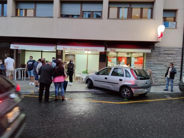 El lloc de l'accident, a Ciutat de Valls.
