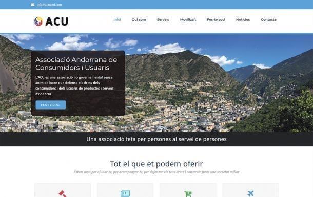 Imatge del web de l'ACU.
