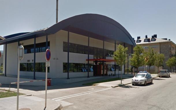 Exterior de la comissaria de la policia autonòmica catalana a la Seu.