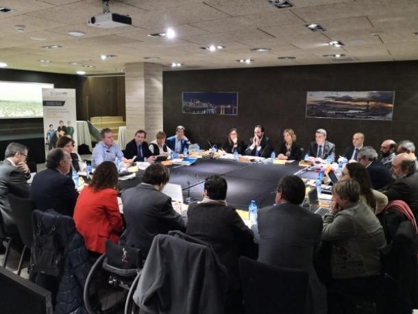 Un moment de la trobada organitzada a Barcelona.