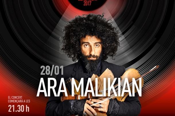 Esgotades les entrades per al concert d'Ara Malikian Esgotades les entrades per al concert d'Ara Malikian