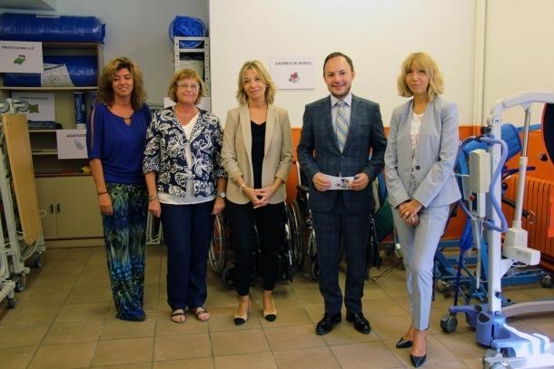 ANA/ Inauguració del Banc de Productes de Suport, aquest divendres a l'escola especialitzada Nostra Senyora de Meritxell.