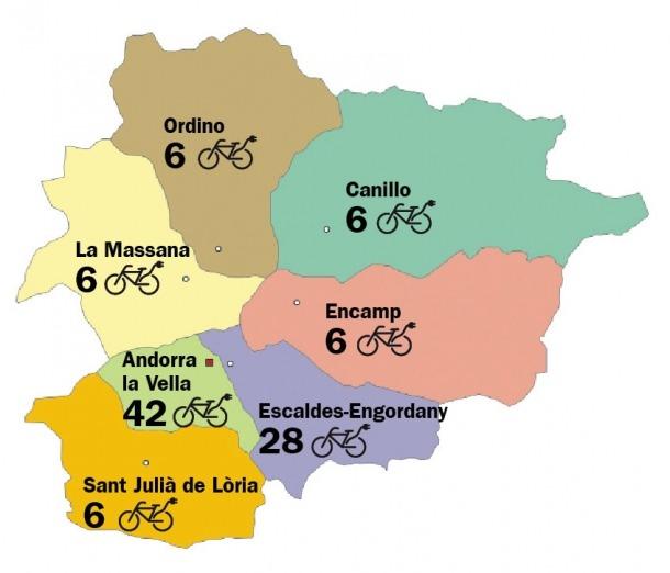 Els comuns doblen el nombre de bicis elèctriques previstes fins a cent