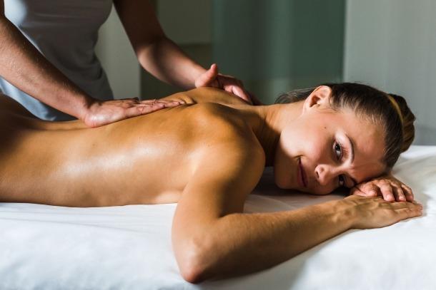 Una sessió de massatge.