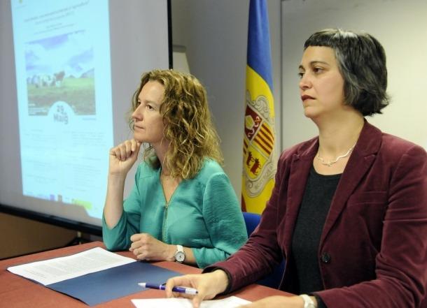 La ministra Sílvia Calvó ha inaugurat el taller 'Canvi climàtic: una nova oportunitat per a l'agricultura?'.