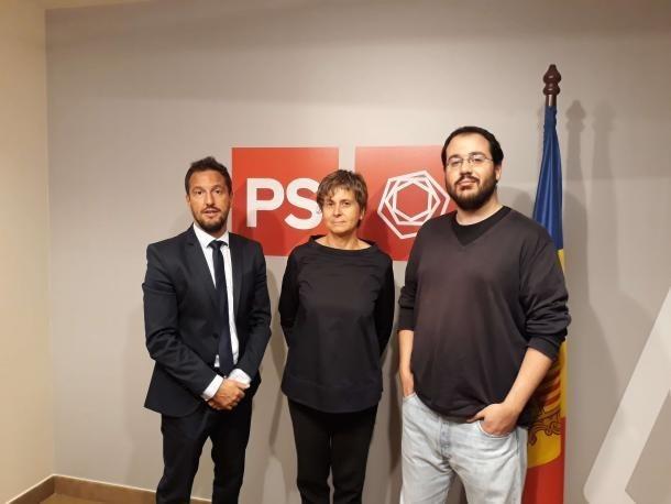 Vela, Alís i Baró, única candidatura per a la nova executiva del PS