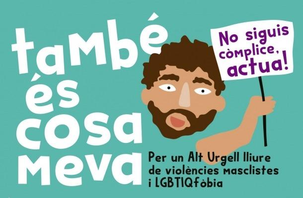 El cartell que anuncia aquesta iniciativa a les festes majors de l'Alt Urgell.