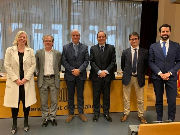 Les delegacions de la CEA i el Ctesc.