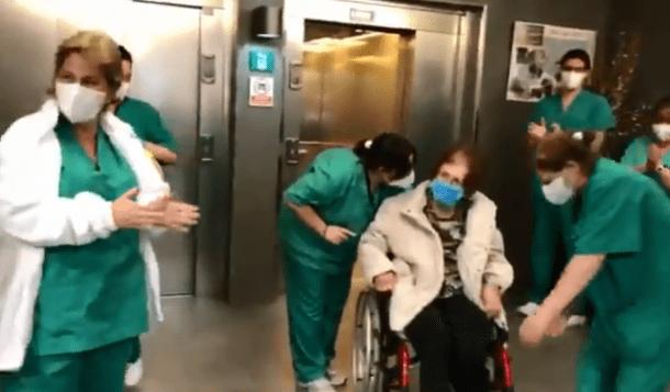 La Núria, resident de La Salita, va abandonar dimarts la unitat d'hospitalització de El Cedre: estava curada.