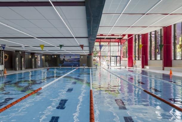 Les piscines del Centre Esportiu Ordino (CEO).