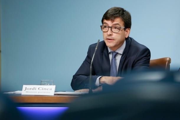 El Govern inverteix 2,7 milions per a la millora de la CG-3 a Ordino