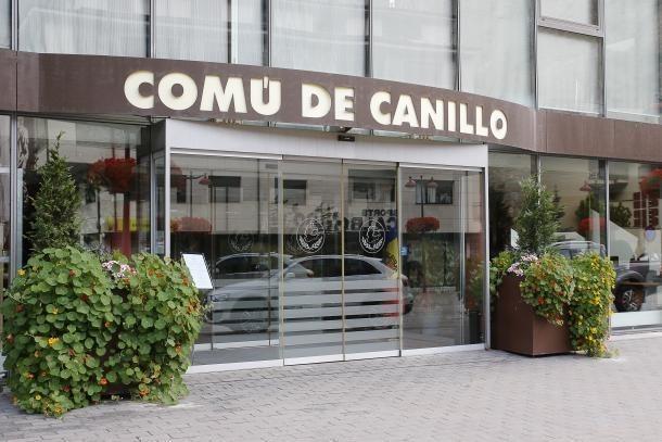 Façana del Comú de Canillo.