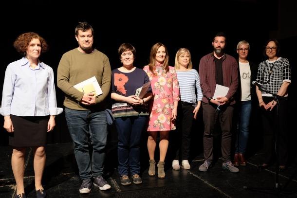ANA/ Els guanyadors del concurs del 2018.