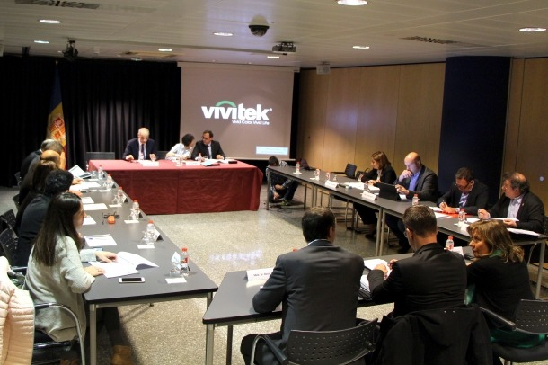REunió dels cònsols i el govern per tractar tema de competències