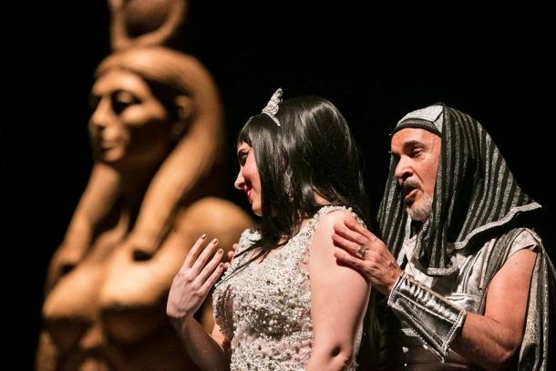 Prop de 700 espectadors van desfilar al maig per les dues funcions de 'La corte de Faraón' al Claror; en tres edicions i onze munatges, per la temporada han passat prop de 5.000 espectadors.